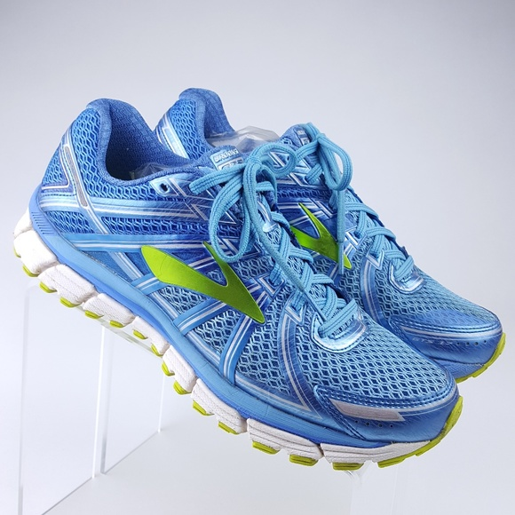 869041168f7 Brooks Shoes - Brooks Adrenaline GTS 17 Blue Running Sneakers